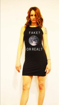 fake or real dress